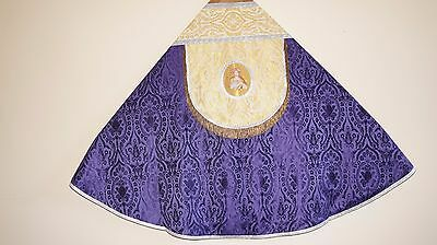 Vetus Chormantel, Cope, Pluviale Messgewand, Chasuble, Casula