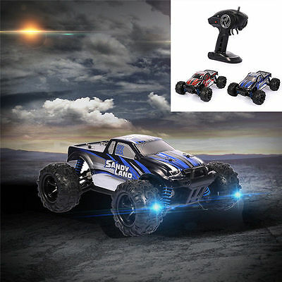 AU! 40KM/h 1:18 High-speed 4WD Desert Racing Car Remote Control RC Off Road CAR