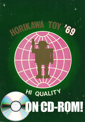Vintage 1969 Horikawa Toys Japan Tin Toy Robot Catalog On Cd-Rom! + Bonus Pages!