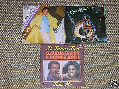 """7"" - 3 Stk. Singles - CLAUDJA BARRY"