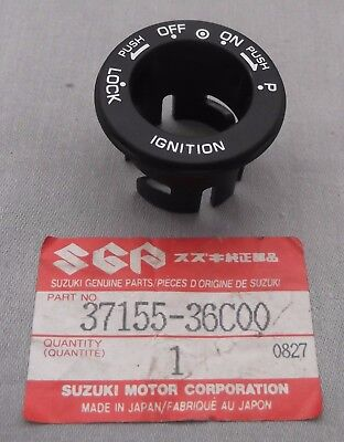 Genuine Suzuki AE50 Steering Lock Ignition Switch Surround Cap Cover 37155-36C00