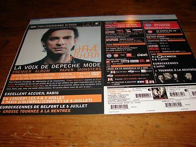 Depeche Mode / Dave Gahan Papermonster!french Press/kit