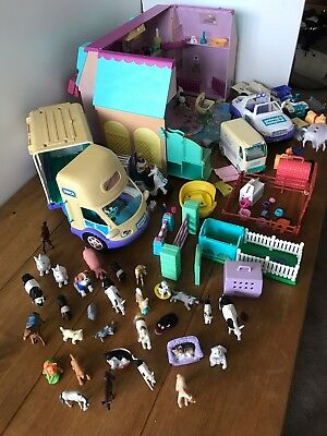 RSPCA Animal Hospital large bundle, Job Lot vehicles and figures, Cats Dogs Cows