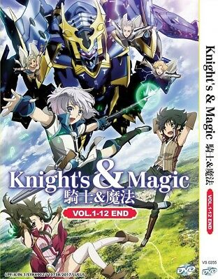 KNIGHTS & MAGIC | Episodes 01-12 | English Subs | 1 DVD (VS0255)