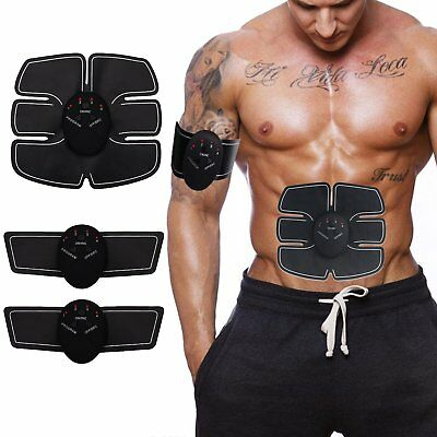 EMS Muscle Trainer Body Fit ABS SixPad Electrical Abdomen Muscle Stimulation DE