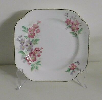 Vintage Vale Bread and Butter Plate - Small Crack on Plate Rim.