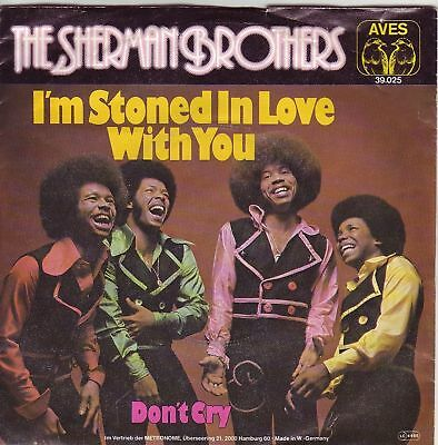 """""""7"""" - THE SHERMAN BROTHERS - I`m stoned in love with..."""