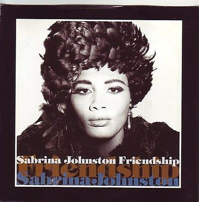 """7"" - SABRINA JOHNSTON - Friendship - near MINT !!!"