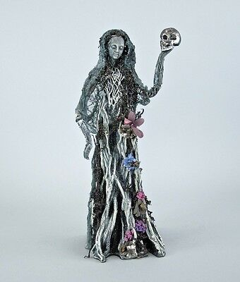 """Ghost Tree Lady 18"""" Halloween Katherine's Forest Cemetery Collection New"""
