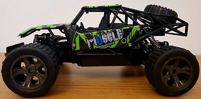 2.4GHZ MONSTER TRUCK BUGGY TRUGGY RECHARGEABLE Remote Control Car 1:18 FAST
