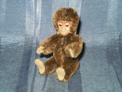"""Vintage Schuco Monkey 3.54"""" With Metal Face"""