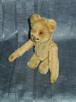 Vintage Schuco Wind-Up Not Working Tumbling Mohair Bear