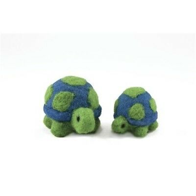 Dimensions Needle Felting - Round & Wooly: Turtles - Woolly Kit D7273905 Wooly