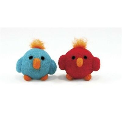 Dimensions Needle Felting - Round & Wooly: Birds - Woolly Kit