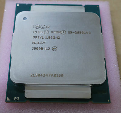 INTEL E5-2650L v3 12 CORES XEON SR1Y1  PROCESSOR 1.8GHZ 30MB  LGA2011 CPU