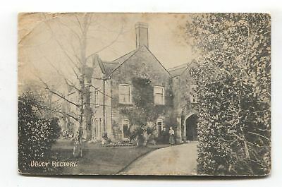 Ubley Rectory, Somerset - 1910 used postcard