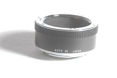 Olympus OM Auto 25 25mm Camera Lens Extension Tube Made In Japan