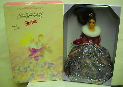 #946 NIB Disney Ballroom Beauties Barbie Starlight Waltz Brunette