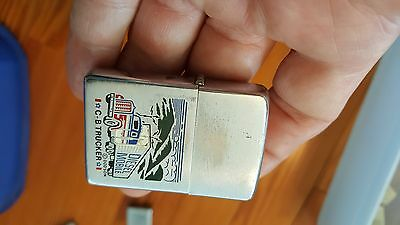 1977 Zippo Lighter,C-B Trucker,Diesel Mobile,Pics Semi Tractor Trailor Truck