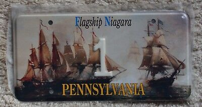 FN Flagship Niagara novelty low number license plate - 1