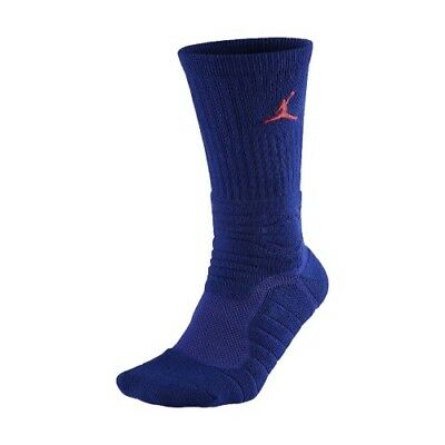 Nike Jordan Men's Royal Blue Ultimate Flight Crew Socks Lot of 6