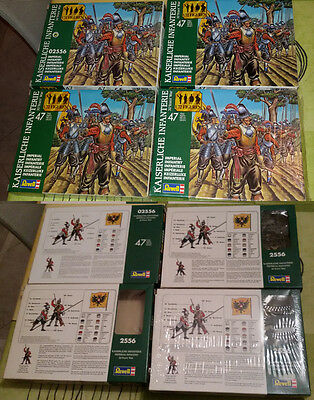 REVELL 1/72 - Thirty Years War Imperial Infantry - auction x 1 BOX 2556 LOOSE