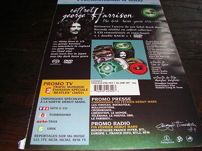 George Harrison Complete!!!!!!!!!!rare French Press/kit