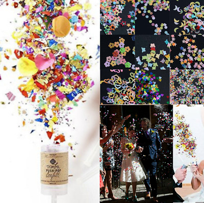 5000PCS TABLE Confetti Push Pop Containers Festival Wedding Party Poppers Decors