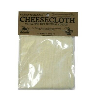 Cheesecloth 1 Yd - Regency 100 Ultra Fine Cotton 9 Ft Natural Sq Rw450n Harold