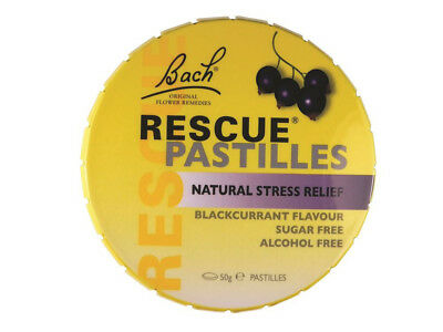 3 x 50g MARTIN & PLEASANCE Rescue Pastilles Blackcurrant 150g Stress Relief