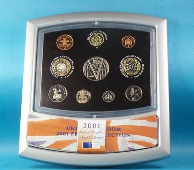 2000 United Kingdom Official Proof Coin Collection