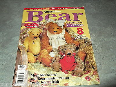 Australian Bear Creations Vol 7 No. 4 Year book Patterns Designs How to Make