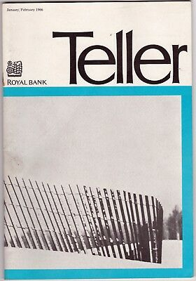 1966 Royal Bank Teller News Booklet RBC Bank News and Advertising gmc2