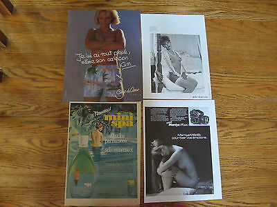 Huge Lot Clippings Sexy Pin Up,nude,mi-Nude.