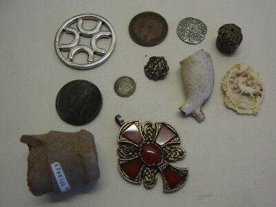 Collection of various antique and vintage items