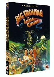 Big Trouble In Little China - Kurt Russell - New / Sealed Dvd - Uk Stock