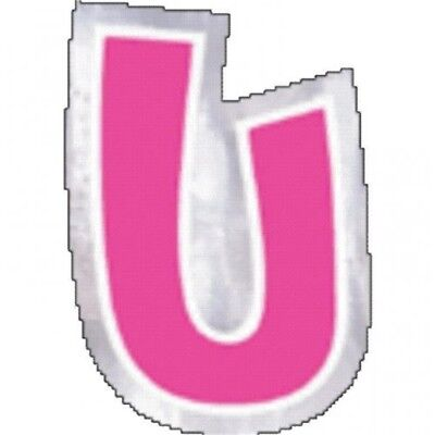 Amscan Personalised Letter - U - Official Party Product Balloon Decoration