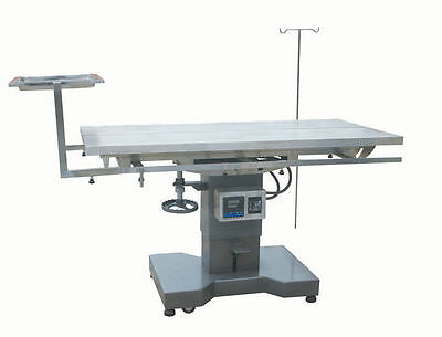 New Veterinary Surgical Operating Table DH28 Electric Lift Control Temp Tilt Top