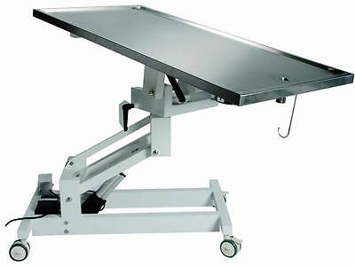 New Veterinary Surgical Operating Table 827E Electric Lift 360 Turn Table Top