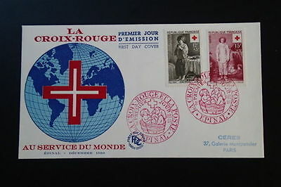 Red Cross 1956 FDC 67309