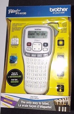 Brother P-touch PT-H100 Easy Handheld Label Maker -  *NEW*  Office/Crafts/School