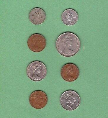 Fiji - Coin Collection - Lot #B - World/Foreign/Oceania/South Pacific
