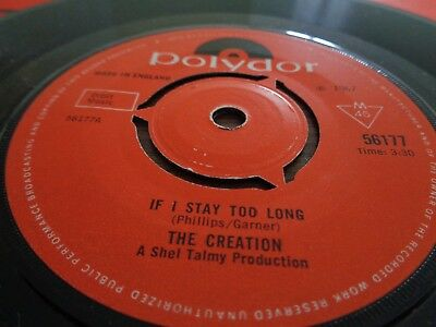 The Creation - If I Stay Too Long. 1967 Polydor Records