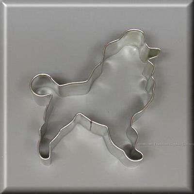 """4"""" Poodle  Metal Cookie Cutter #na6049"""