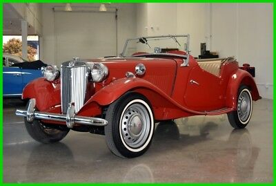 1950 MG T-Series TD Roadster 1950 MGTD SOLID GARAGED CALIIFORNIA CAR BEAUTIFUL CONDITION