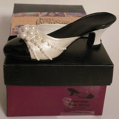 """Just The Right Shoe """"PEARL MULE"""" Item # 25010"""