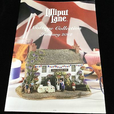 Lilliput Lane Cottage Collection January 2012 Catalog