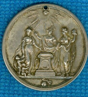 1775 Dutch Silver Medal Issued for 100 Year Anniversary