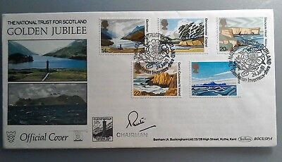 1981 Benham Signed Fdc Bocs(Sp)4 - National Trusts Golden Jubilee - Glenfinnan