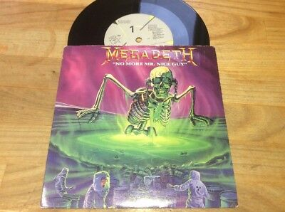 Megadeth - No More Mr. Nice Guy 7 Inch Single